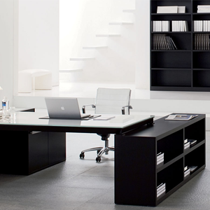 Office table & storage units