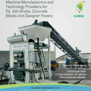 Manufacturer of Fly Ash Brick Making Machine