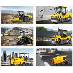 Manufacturers of Road Construction Machines
