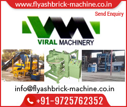 Manufacturer & Supplier of Flyash Making Machine