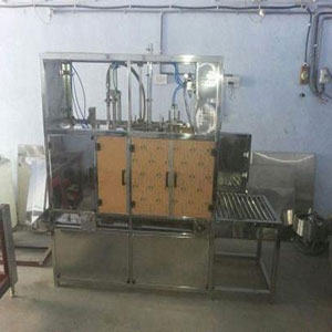 Fully Automatic Jar Rinsing Filling Machine