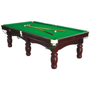 Pool Table With Wiraka Pro Cloth