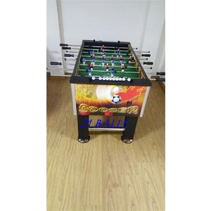 Soccer Table Orange Graphic