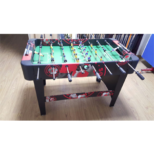 Soccer Table Graphic Red