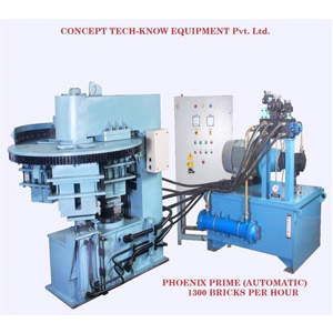 Rotary Table Fly Ash Brick Machine