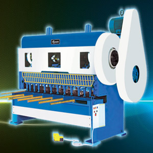 Over Crank Shearing Machine