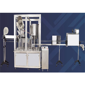 90 BPM Water Bottle Rinsing Filling Capping Machine