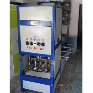 Double Die Four Roll Dona And Thali Machine