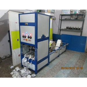 Double Die Dona, Plate, Thali Machine, Four Roll Stand