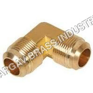 Brass 90* Flare Male Elbow