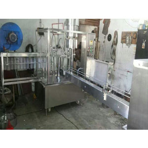 24 BPM Water Bottle Rinsing Filling Capping Machine