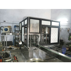 40 BPM Water Bottle Rinsing Filling Capping Machine