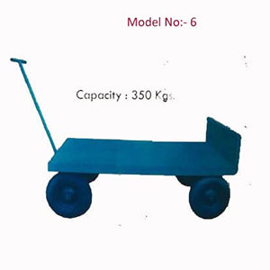 MS Fabricated Trolly