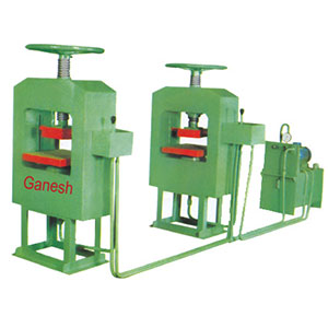 Oil Hydraulic Chequired Tiles Machine
