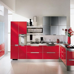 Modular kitchens manufacturers exporters suppliers in for Steel modular kitchen designs