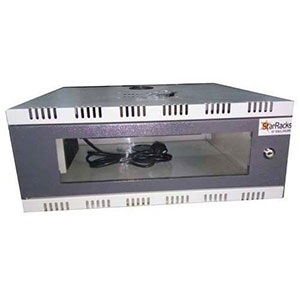 1U DVR Wall Mount Rack
