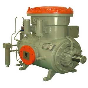 Single Stage Refrigeration Compressor