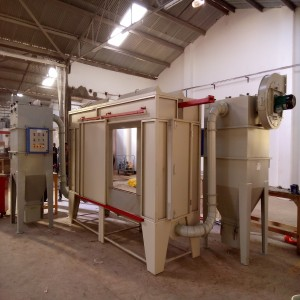 Batch Type Powder Recovery Booth