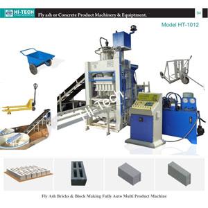 Brick And Block Making Machine