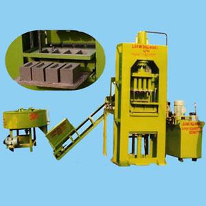 Semi Automatic Fly Ash Brick Making Plant