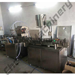 4 Head Automatic Syrup Filling Machine