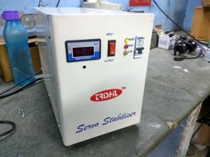 Single Phase Servo Stabilizer (1-25 KVA)