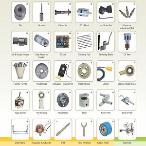Spare Parts Of Agarbatti Making Machine