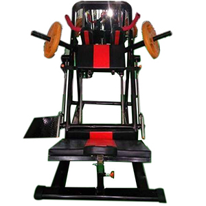 HACK SQUAT LEG PRESS MACHINE