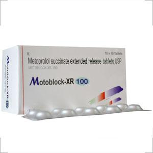 Metoprolol SUCCINATE 100 mg (ER)