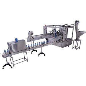 Fully Auto Rinsing Filling & Capping Machine
