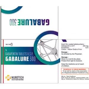 Gabalure-300 Tablet