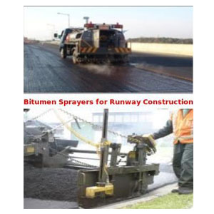 Bitumen Sprayers For Runway Construction