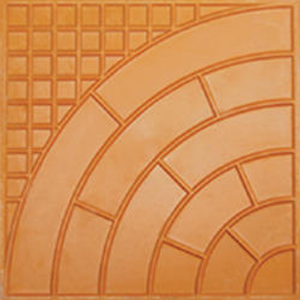 Checkered Tile Rubber Mould