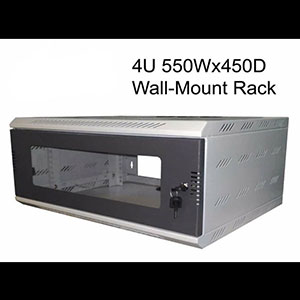 4U 550W * 450D WALL-MOUNT RACK