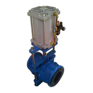 Pneumatic Cylinder Operated Close Body Pinch Valve