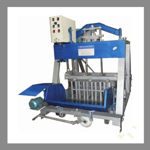 Semi Automatic Concrete Block Making Machine