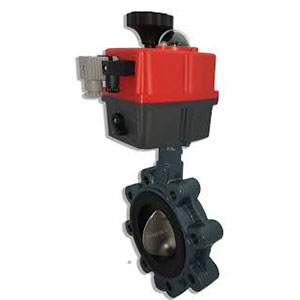 Butterfly Accutor Valve