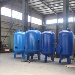 Rubber Lining in Carbon filter tank ' ETP'Plant