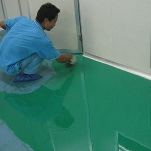 Epoxy Flooring Work
