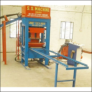 Semi Automatic Fly Ash Brick Machine