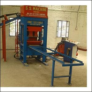 Fully Automatic Concrete Brick Making Machine