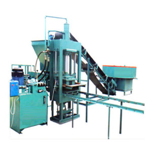 Automatic 8 Block Fly Ash Brick Making Machine