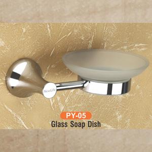 Py-05 Glass Soap Dish