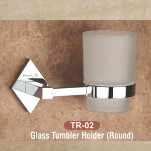 TR-02 Glass Tumbler Holder (Round)