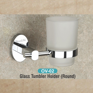 OV-02 Glass Tumbler Holder (Round)