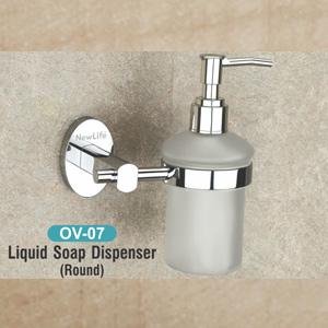 OV-07 Liquid Soap Dispenser (Round)