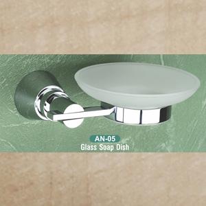 AN-05 Glass Soap Dish