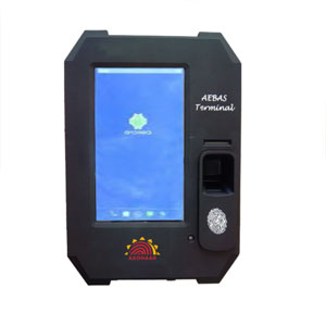 Aadhar Enabled Biometric Machine