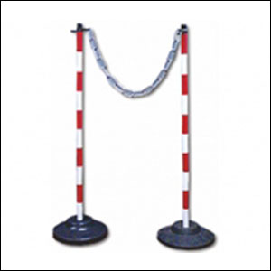 Adjustable Sign Stand and Que Manager