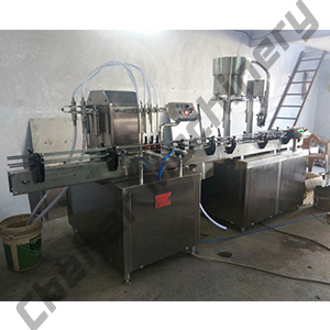Liquid Filling Machine and Capping Machine